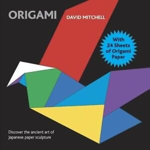 Origami: With 24 Sheets of Origami Paper,Mitchell, David,New Book mon0000090659