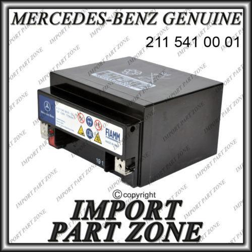 Mercedes Auxiliary Battery Ebay