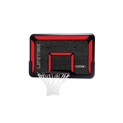 Basketball Backboard Rim Combo Roof Wall Mount Goal Net Hoop Sport Outdoor Goal