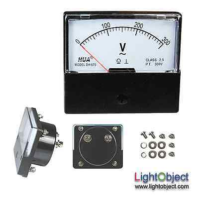 Ac 0-300v Analog Panel Volt Meter