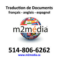 DOCUMENTS - Traduction /Translation EN-FR-ESP - 514-806-6262