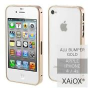 iPhone 4 Bumper Gold