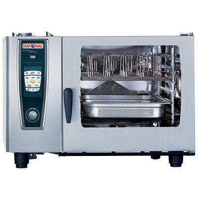 Rational Model 62 A628106.12 Electric Combi Oven With Six Full Size Sheet Pan C