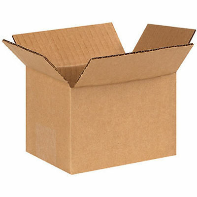 50 6x4x4 Cardboard Shipping Boxes Corrugated Cartons