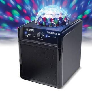ION AUDIO PARTY TIME Bluetooth Speaker System w Disco Ball Light Sydney City Inner Sydney Preview
