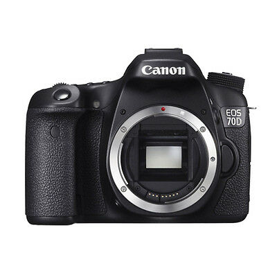 Canon EOS 70D Body 20.2 MP Digital SLR Camera BRAND NEW