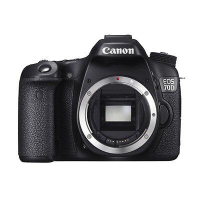 Canon EOS 70D Body 20.2 MP Digital SLR Camera BRAND NEW