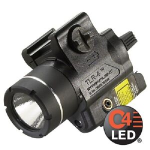 Streamlight 69241 TLR-4 H&K USP Compact Rail Mounted Tactical Light & Red Laser