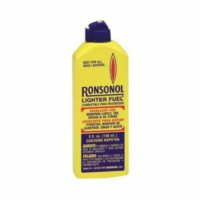 Ronsonol Lighter Fluid Fuel 5 Ounces Bottle Best For All Wick Type Lighters