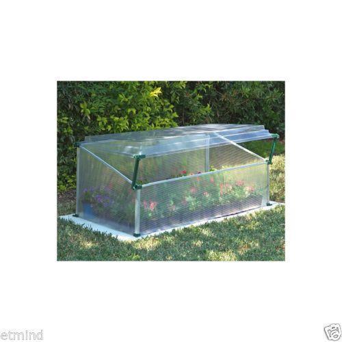 cold frame greenhouse ebay. Black Bedroom Furniture Sets. Home Design Ideas