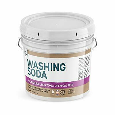 Natural Washing Soda 1 Gallon Sodium Carbonate Soda Ash Stain Remover Water S...