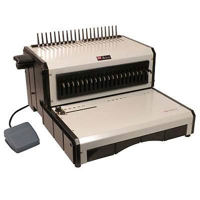 New Akiles Alphabind-ce Electric Plastic Comb Binding Machine - Free Shipping