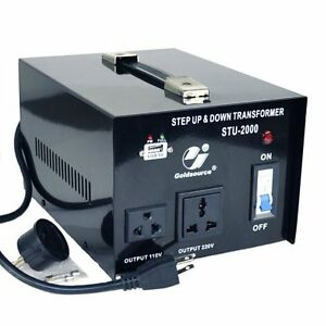 500 W To 3000 W Step Up/Step Down Transformer For 110/220 Volts