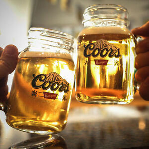 Coors Banquet Beer Glasses