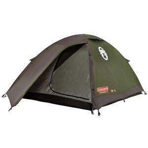 Coleman Darwin 2 grün/grau Outdoor Zelt bis zu 2 Personen NEU