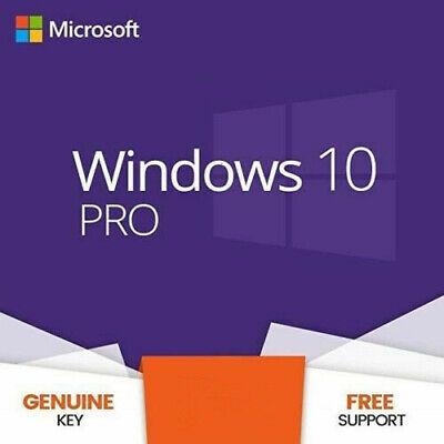 WIN10 PRO 32&64 BIT Key Life Time License Windows 10 Professional CODE Instant