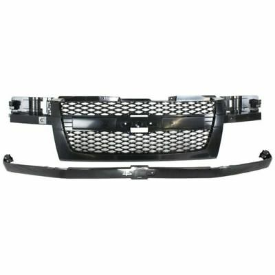 for 2004 2012 Chevrolet Colorado Grille Assembly With Chrome - 2008 Chevrolet Colorado Grille