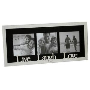live laugh love photo frame