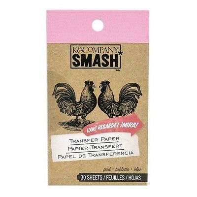 SMASH BOOK ACCESSORY PAD - TRANSFER PAPER - Journaling, Scrapbooking - 30 Sheets