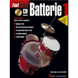 FastTrack Méthode pour batterie - volume 1 + CD