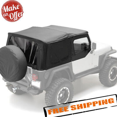 2006 Jeep Tj Replacement - Smittybilt 9970235 Replacement Soft Top for 1997-2006 Jeep Wrangler TJ - NEW