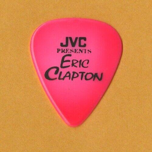 Eric Clapton 1993 JVC Presents Concert Tour Guitar Pick - $7.50