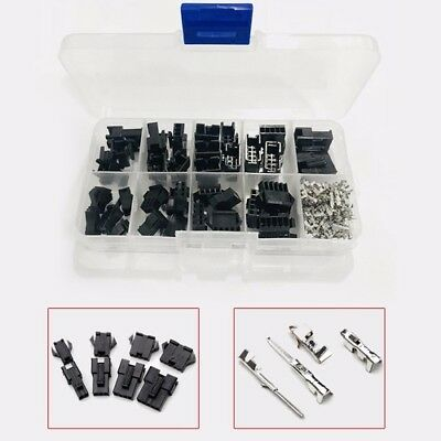 200pcs 2345pin Malefemale Pin Jumper Header Housing Wire Connector Kit