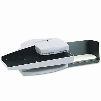 Martin Yale Electric Letter Opener - Electric - 7000 Envelopes Per Hour - Gray