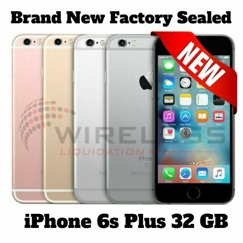 BRAND NEW SEALED Apple iPhone 6s Plus 32GB GSM CDMA UNLOCKED Never Activated