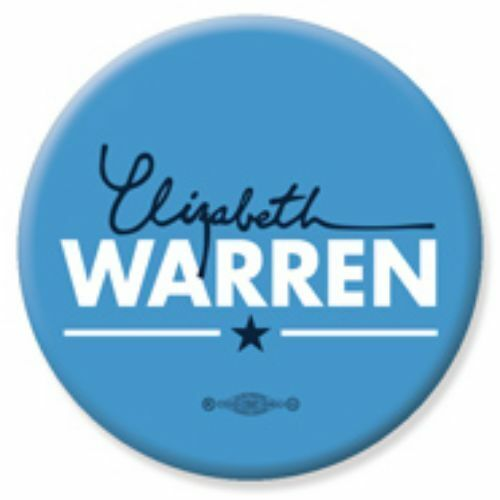 Elizabeth Warren For President 2020 Blue  2.25 Inch Pinback Button Pin