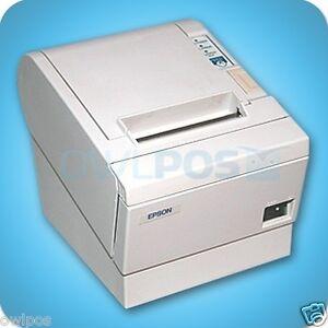 Epson-TM-T88III-M129C-Thermal-POS-Receipt-Printer-White-Serial-Interface-REFURB