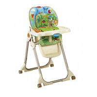 Fisher Price Rainforest High Chair with Toy Tray + Bonus