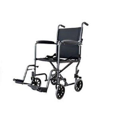 NEW Cardinal Health Transport Chair Wheel Chair Light Weight Wheelchair