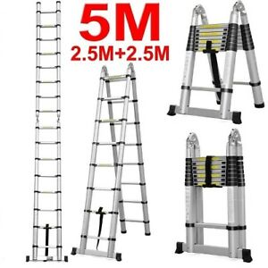 Telescope ladder, multi-puropose ladder 1yr warranty416-301-6462