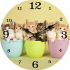 Cats & Kittens Decorative Clocks