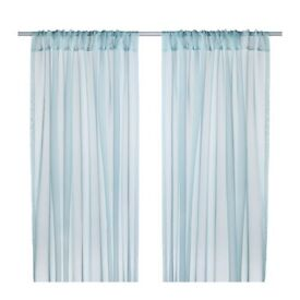 IKEA 'TERESIA' sheer curtains / drapes / voiles, BRAND NEW UNOPENED
