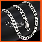 White Gold Plated Chain Unisex Chains & Necklaces