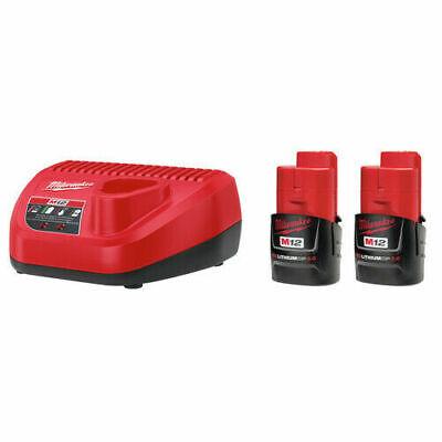Milwaukee 48-11-2432P M12 12V 3.0 Ah CP Battery Starter Kit