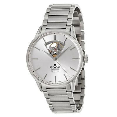 New Edox Les Vauberts Open Heart Automatic Men's Watch