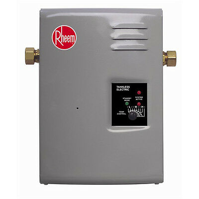Rheem Electric Tankless Water Heater - 9 kW RTE-9 New