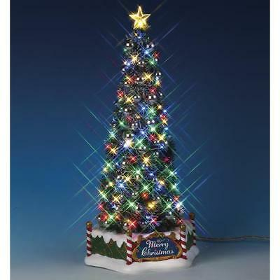 Lemax ~ Majestic Christmas Tree Prelit Village Accessory - Majestic Christmas Tree