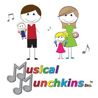 Musical Munchkins - Music classes for children birth to 4 yrs