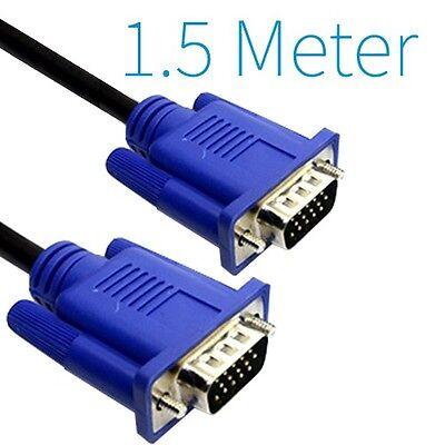 1.5M VGA auf VGA Kabel für LCD Monitor / TFT Monitore / Bildschirm
