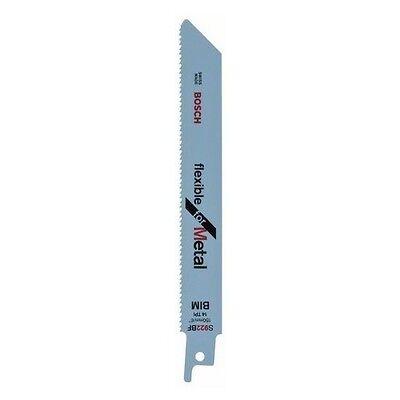 Säbelsägeblätter S 922BF Flexibel für Metall , 1 Pack (=100 St) Bosch 2608656027