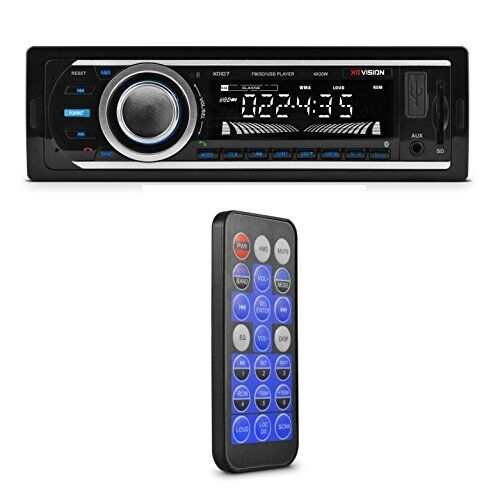 Car Stereo Wireless FM Radio Mp3 Bluetooth Receiver Deck USB