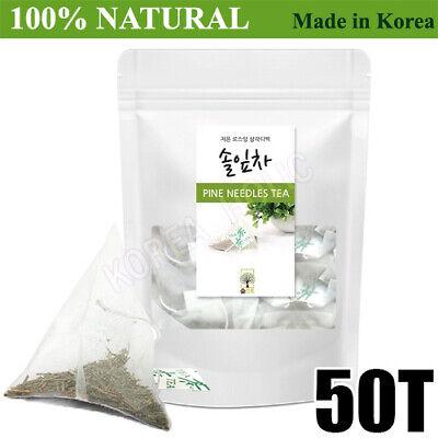 100% Natural Pine Needle Tea Medicinal Herbal 50 Bags Medicinal Korean Herbal