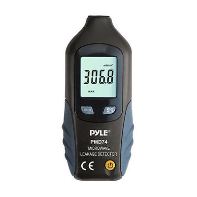 New Pyle Pmd74 Digital Lcd Microwave Leakage Detector Never Needs Recalibration