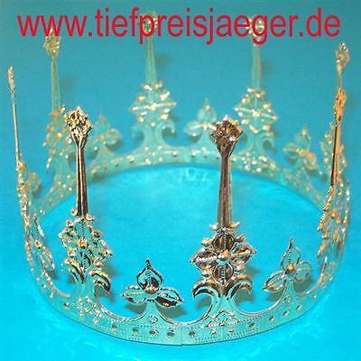 KRONE KÖNIGIN # Karneval Fasching Königinnen Prinzessin Fest Kostüm Zubehör 2441