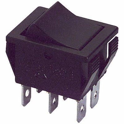 Philmore Snap-in Power Rocker Toggle Switch - Dpdt On - On 16a 125v