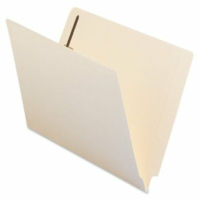 Smead 34115 Manila End Tab Fastener File Folders With Reinforced Tab - Letter -